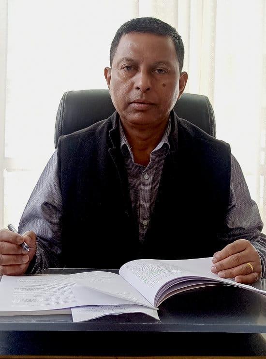 Peter Dkhar - CEO SPVS Meghalaya