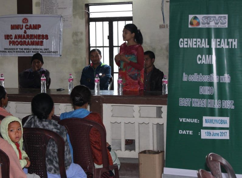 Health Camp in Nongtrai